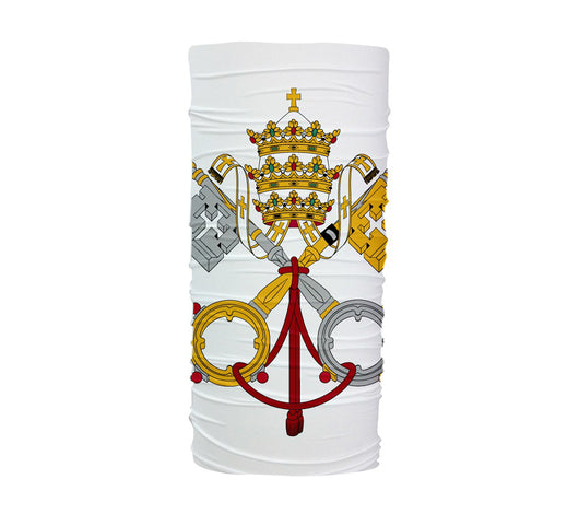 Vatican City Flag Multifunctional UV Protection Headband