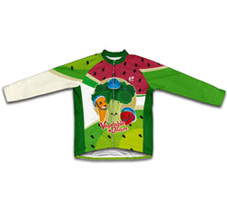 Vegetable Team Winter Thermal Cycling Jersey