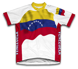 Venezuela Flag Cycling Jersey for Men and Women