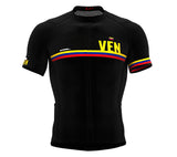 Venezuela Black CODE Short Sleeve Cycling PRO Jersey for Men and WomenVenezuela Black CODE Short Sleeve Cycling PRO Jersey for Men and Women