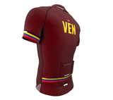 Venezuela Vine CODE Short Sleeve Cycling PRO Jersey for Men and Women