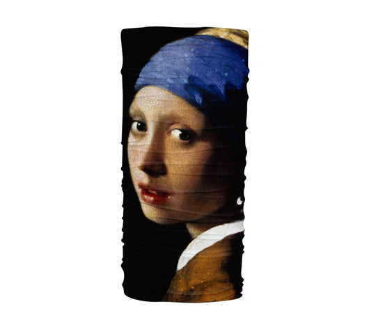 Vermeer - Girl with a Pearl Earring Multifunctional UV Protection Headband