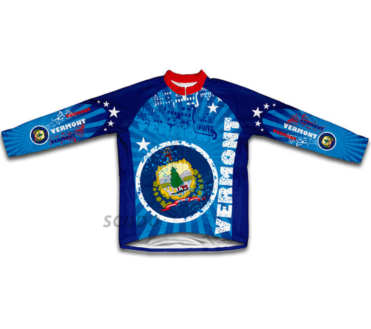 Vermont Winter Thermal Cycling Jersey