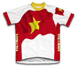 Vietnam Flag Cycling Jersey for Men and Women