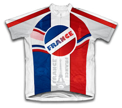 Viva La France Short Sleeve Cycling Jersey for Men and Women