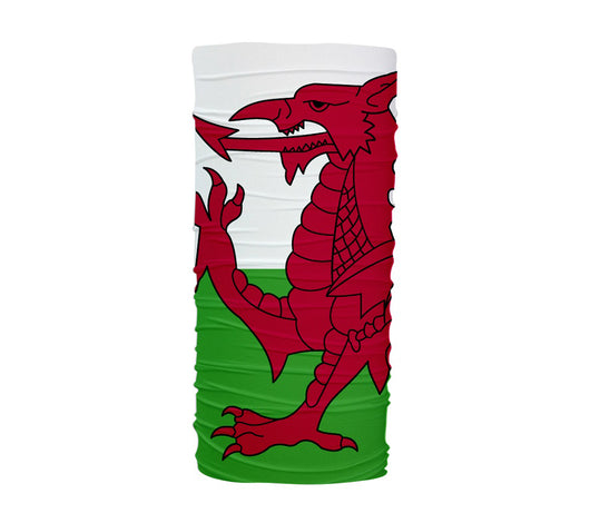 Wales Flag Multifunctional UV Protection Headband