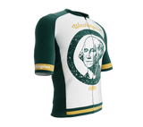 ScudoPro Pro-Elite Short Sleeve Cycling Jersey Washington USA State Icon landmark symbol identity  | Men and Women
