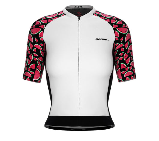 Scudopro Pro-Elite Short Sleeve Cycling Pro Fit Jersey Watermelon for Women
