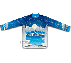 Winter Wonderland Winter Thermal Cycling Jersey