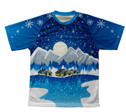 Winter Wonderland Technical T-Shirt for Men and Women