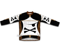X Pirate Winter Thermal Cycling Jersey