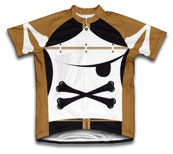 X Pirate Short Sleeve Cycling Jersey for Men and Women