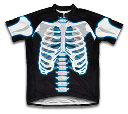 X Ray Short Sleeve Cycling Jersey for Men and Women