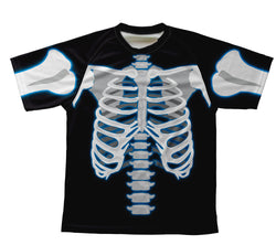 X Ray Technical T-Shirt for Men and Women