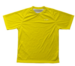 Yellow Technical T-Shirt for Men and Women
