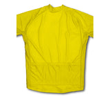 Keep Calm and Slow Down Yellow Winter Thermal Cycling Jersey