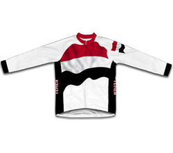 Yemen Flag Winter Thermal Cycling Jersey