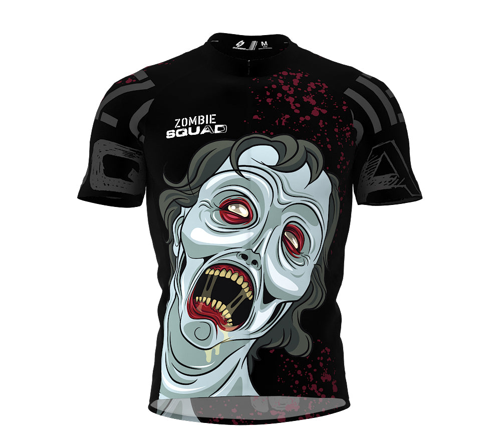 Zombie Cycling Jersey Short Sleeve for Men and Women