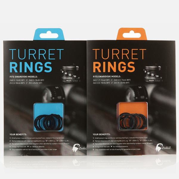 ZnikiZ® Turret Rings
