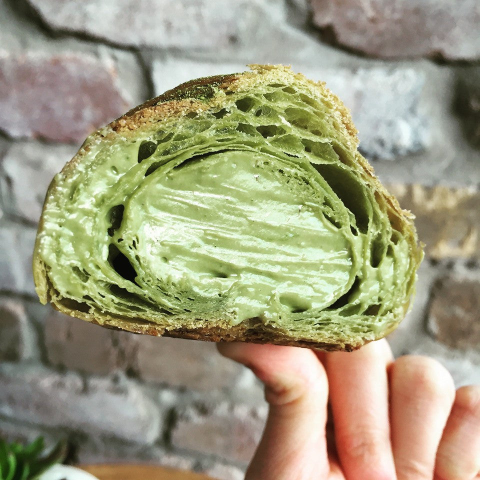 Green Tea Croissants? Yes, it's true.