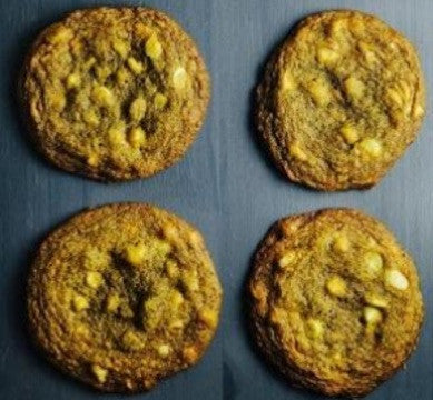 Matcha, White Chocolate and Macadamia Cookies - Oh My!