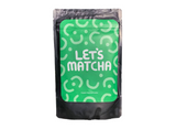 Matcha T-shirt - yellow, with mug of matcha