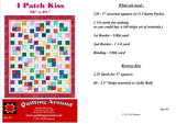 4 Patch Kiss Pattern