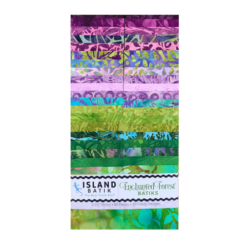 Enchanted Forest Batik Strip Sets