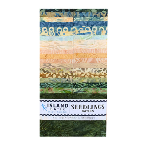 Seedlings Strip Set Batik