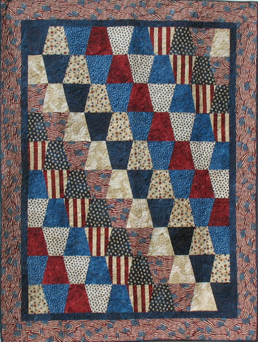 Proud to be an American PRE-CUT Tumber Quilt