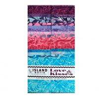 Love & Kisses Batik Strip Set