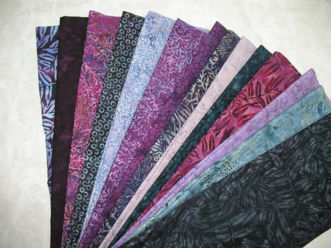 Black Pearl Batik Strip Set