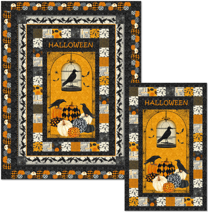 "Raven's Halloween Kit 66""x84"""