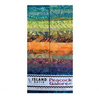 Peacock Galore Batik Strip Set