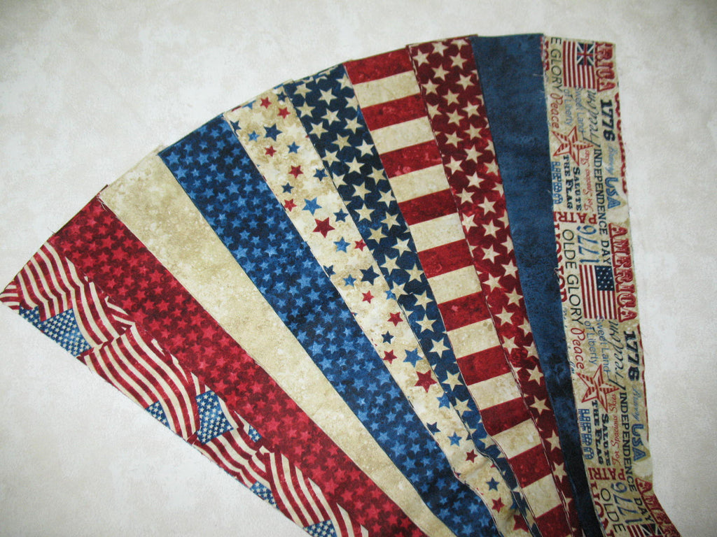 Patriotic Stonehenge Strip Set