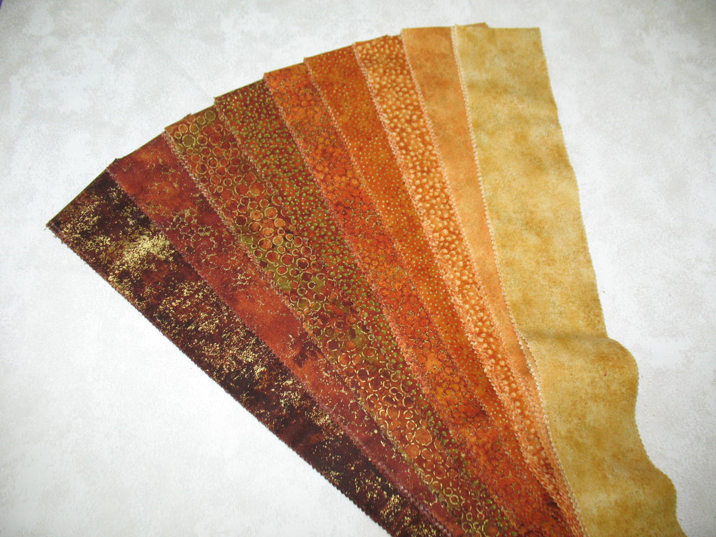Shimmer Rust Strip Set