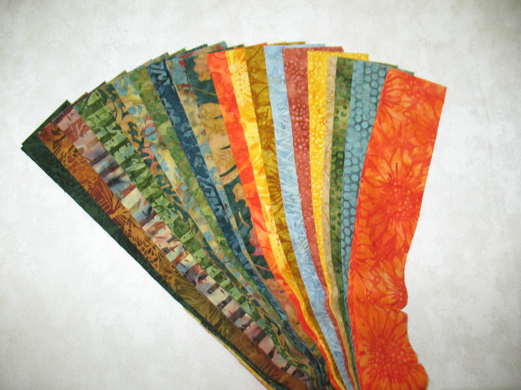 Pumpkin Patch Strip Set Batik