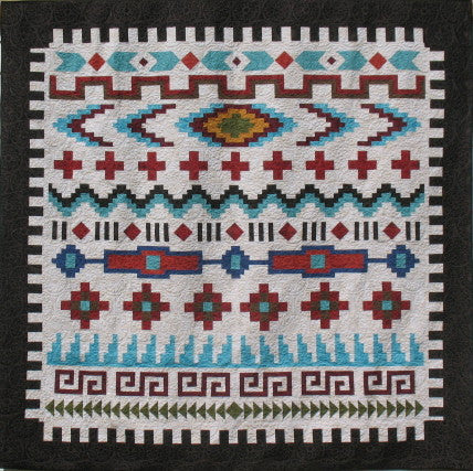 "Navajo Sarape Queen Option KIT 96""x100"" 1- LEFT!"