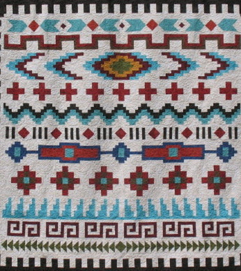 FREE Shipping ! - Navajo Sarape Block of the Month - Will begin Mid-August 2016!