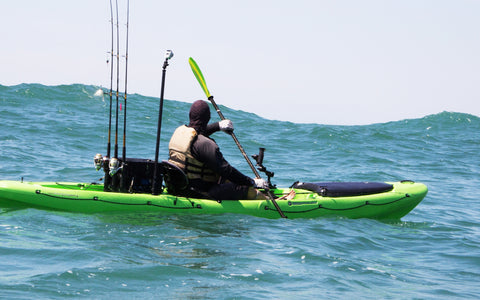 Don't overload your fishing kayak!