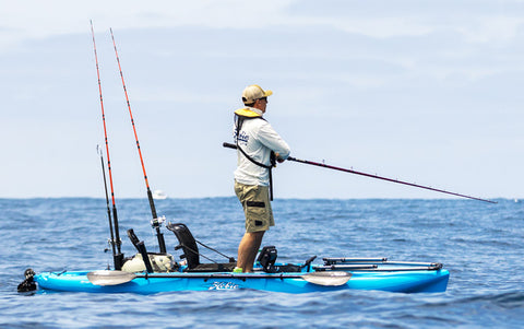 The Hobie Outback is a very versatile fishing kayak