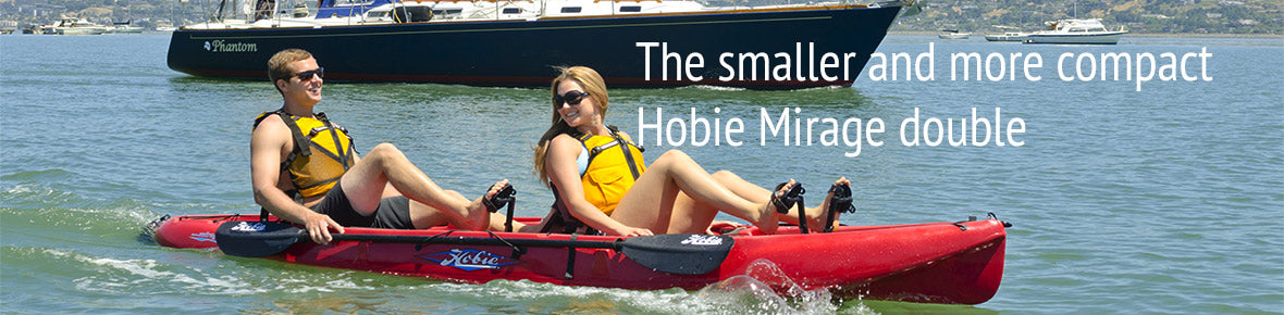 Hobie Outfitter in action