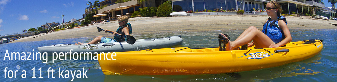 Hobie Revolution 11 in action