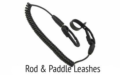 Rod and paddle leashes