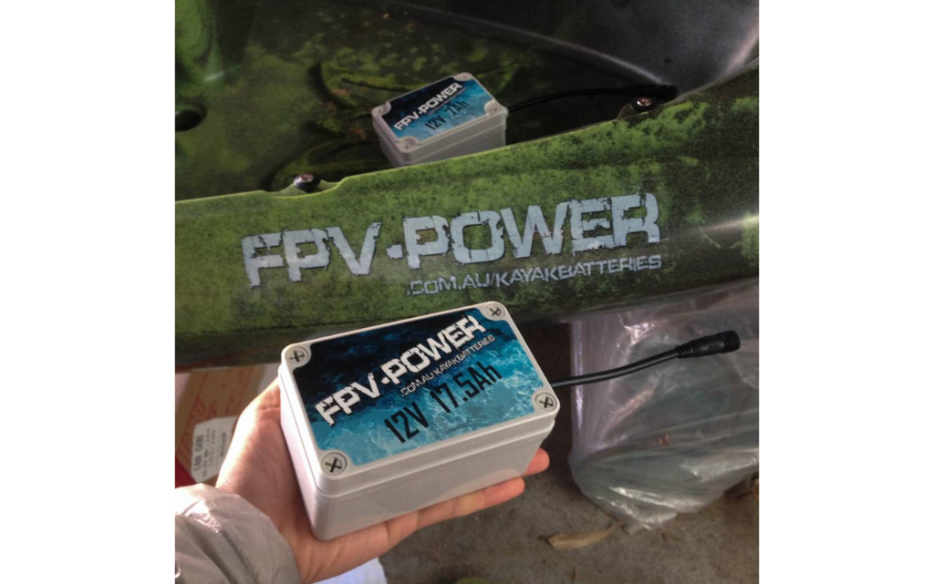 FPV-Power 17.5AH Waterproof IP67 Rated Lithium Battery & Charger