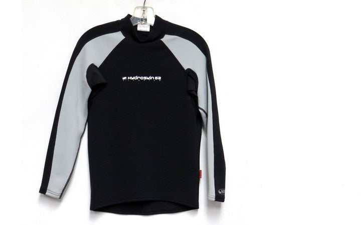 Wetsuits - NRS Hydroskin 1mm Long Sleeve Long Sleeve Wetsuit Shirt Black