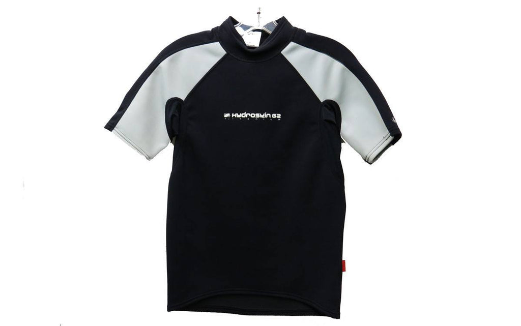 Wetsuits - NRS Hydroskin 1mm  Short Sleeve Wetsuit Shirt Black