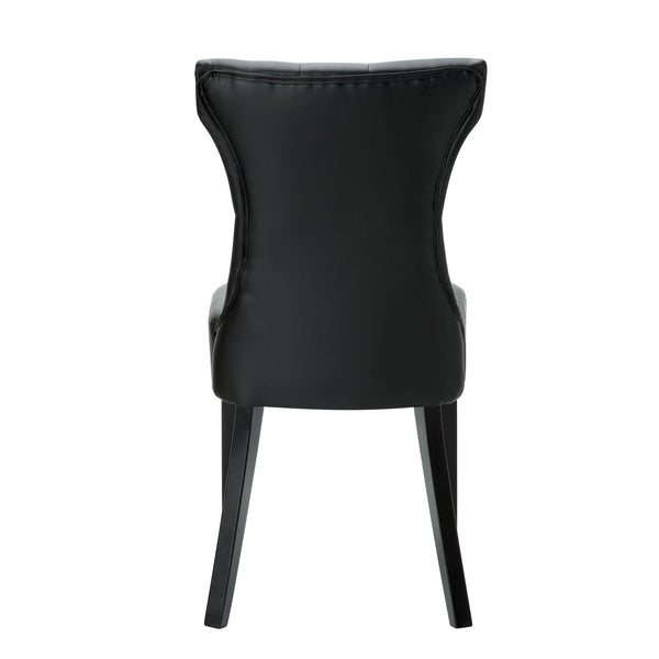 Silhouette Dining Chairs Set of 2 - Black
