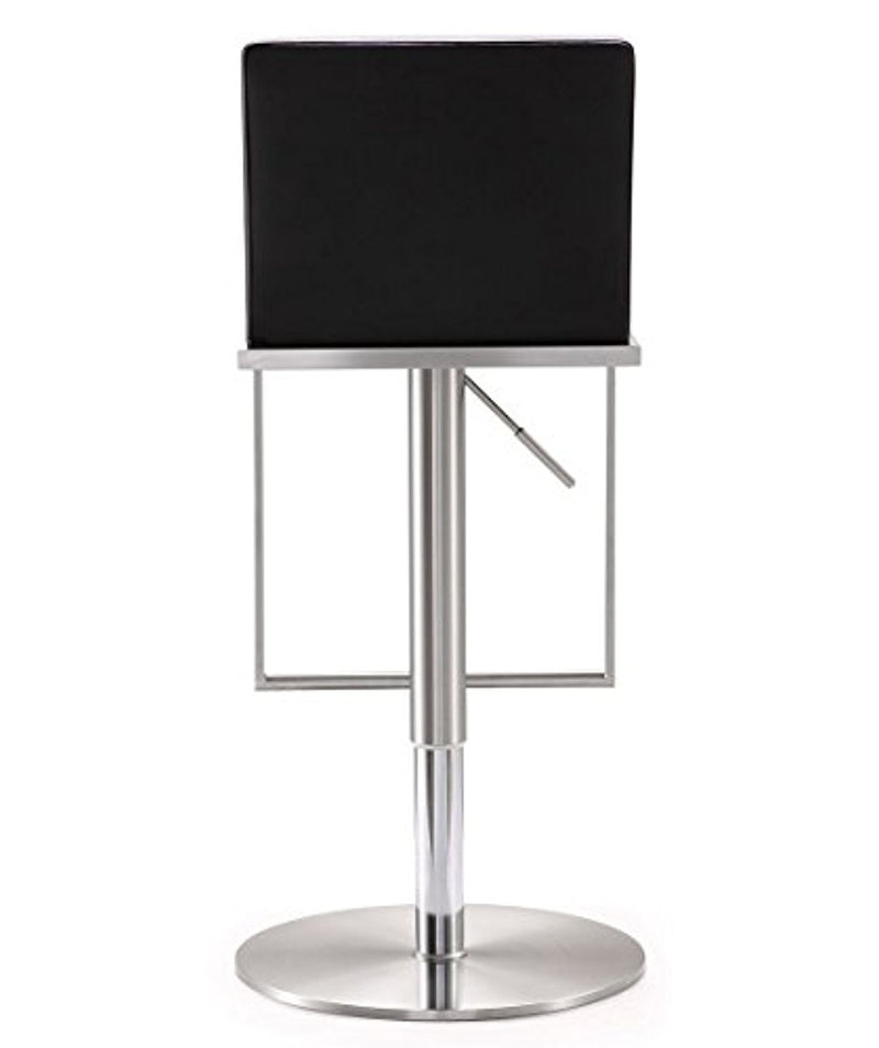 Amalfi Black Stainless Steel Barstool