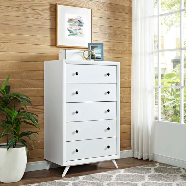 Tracy Chest - White